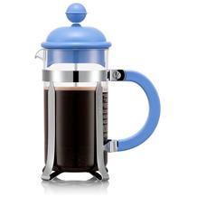 Bodum CAFFETTIERA Kaffeebereiter, 3 Tassen, 0,35l, blau