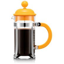 Bodum CAFFETTIERA Kaffeebereiter, 3 Tassen, 0,35l, gelborange