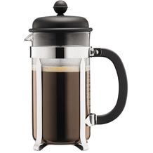 Bodum CAFFETTIERA Kaffeebereiter, 8 Tassen, 1,0 l, aus kunststoff schwarz