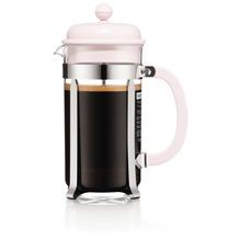 Bodum CAFFETTIERA Kaffeebereiter, 8 Tassen, 1,0 l, aus kunststoff strawberry