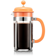 Bodum CAFFETTIERA Kaffeebereiter, 8 Tassen, 1,0l, orange