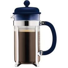 Bodum CAFFETTIERA Kaffeebereiter mit Kunstsoffdeckel, 8 Tassen, 1.0 l, Edelstahl