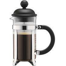 Bodum CAFFETTIERA Kaffeebereiter mit Kunststoffdeckel 0,35 l 3 Tassen schwarz