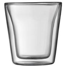 Bodum CANTEEN Glas doppelwandig 0.1L - 2er Set