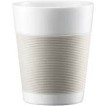 Bodum CANTEEN 2 Stück Tasse 0,2 l cremefarben