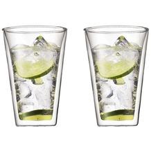 Bodum CANTEEN Glas doppelwandig 0.4L - 2er Set