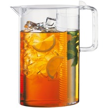 Bodum CEYLON Eisteekanne mit Filter 1,5 l transparent