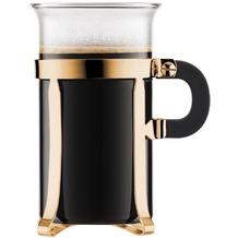 Bodum CHAMBORD 2 Kaffeetassen, 0.3 l gold