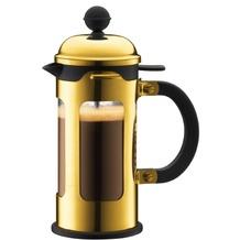 Bodum CHAMBORD Kaffeebereiter 0,35 l 3 Tassen gold
