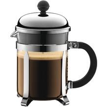 Bodum CHAMBORD Kaffeebereiter 0,5 l 4 Tassen glänzend, erhöhter Rahmen