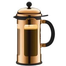 Bodum CHAMBORD Kaffeebereiter 1,0 l 8 Tassen terracotta