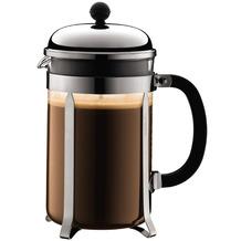 Bodum CHAMBORD Kaffeebereiter, 12 Tassen, 1,5 l, aus kunststoff verchromt