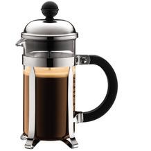 Bodum CHAMBORD Kaffeebereiter, 3 Tassen, 0,35 l, aus kunststoff verchromt