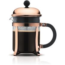Bodum CHAMBORD Kaffeebereiter, 4 Tassen, 0.5 l, Edelstahl kupfer