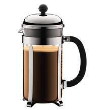 Bodum CHAMBORD Kaffeebereiter, 8 Tassen, 1,0 l, aus kunststoff verchromt