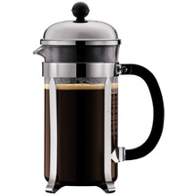 Bodum CHAMBORD Kaffeebereiter, 8 Tassen, 1.0 l glänzend