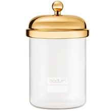 Bodum CLASSIC Vorratsglas, 0.5 l gold