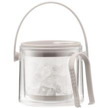Bodum COOL Eiskübel mit Zange, 1.5 l cremefarben