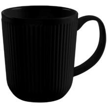 Bodum DOURO 2 Stk. Kaffeetasse 0.35 l, Porzellan schwarz matt