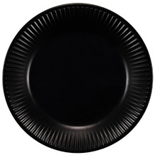 Bodum DOURO 4 Dessertteller, ø 18 cm, Porzellan schwarz matt