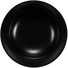 Bodum DOURO 4 Stk. Pastateller, ø 28 cm, Porzellan schwarz matt
