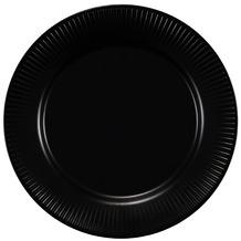 Bodum DOURO 4 Stk. Essteller, ø 28 cm, Porzellan schwarz matt