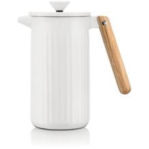 Bodum DOURO Kaffeebereiter aus Porzellan, 8 Tassen, 1.0 l weiss