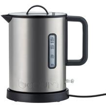 Bodum IBIS Elektrischer Wasserkocher, Edelstahl, 1.190 W, 1.0 l matt
