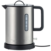 Bodum IBIS Elektrischer Wasserkocher, Edelstahl, 2.020 W, 1.5 l matt