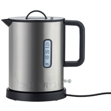 Bodum IBIS Elektrischer Wasserkocher, Edelstahl, 760 W, 0.5 l matt