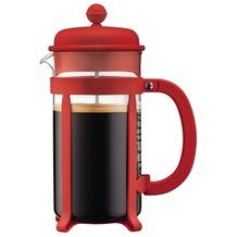 Bodum JAVA Kaffeebereiter, 8 Tassen, 1.0 l rot