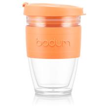 Bodum JOYCUP Reisebecher, 0,25l, Bodum-Band, orange