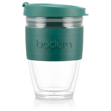 Bodum JOYCUP Reisebecher, 0,25l, Bodum-Band, grün