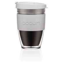 Bodum JOYCUP Travel Mug, Doppelwandig, Kunststoff, 0.25 l schatten