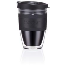 Bodum JOYCUP Travel Mug, Doppelwandig, Kunststoff, 0.25 l schwarz