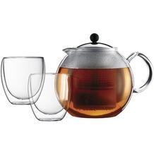 Bodum K1833-16 Teeset ASSAM mit 2 Gläser 0,25L