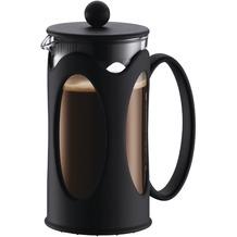 Bodum KENYA Kaffeebereiter 0,35 l 3 Tassen schwarz, runder Griff