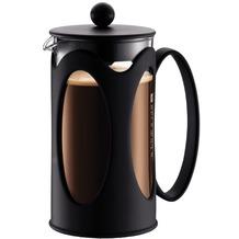 Bodum KENYA Kaffeebereiter 1,0 l 8 Tassen schwarz, runder Griff