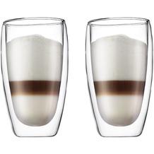 Bodum PAVINA Glas doppelwandig 0.45L - 2er Set