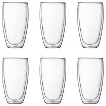 Bodum PAVINA 6 Stück Glas, doppelwandig, 0.45 l transparent