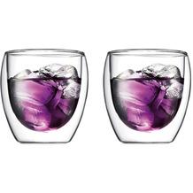 Bodum PAVINA Glas doppelwandig 0.25L - 2er Set