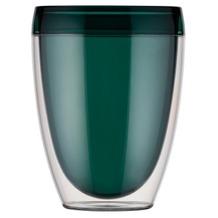 Bodum PAVINA OUTDOOR 6 Becher doppelwandig, 0.35 l, Kunststoff, grün