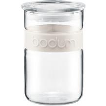 Bodum PRESSO Vorratsglas 0,6 l cremefarben