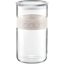Bodum PRESSO Vorratsglas 2,0 l cremefarben