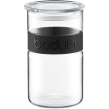 Bodum Vorratsglas PRESSO 1L schwarz
