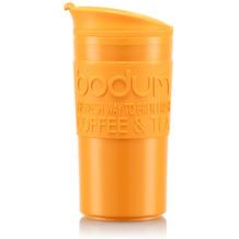 Bodum TRAVEL MUG Tasse, 0,35 Liter, gelborange