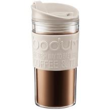 Bodum TRAVEL MUG Travel mug, 0.35 l cremefarben