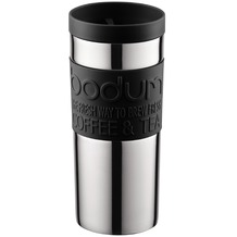 Bodum TRAVEL MUG Travel mug, 0.35 l, Edelstahl schwarz