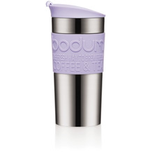 Bodum TRAVEL MUG Travel Mug, Doppelwandig, Edelstahl, 0.35 l verbena