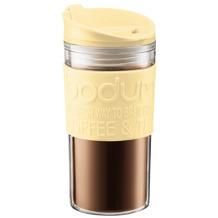 Bodum TRAVEL MUG Travel Mug, Doppelwandig, Kunststoff, 0.35 l gelb